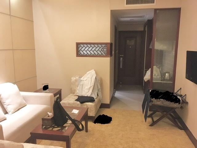 【蘇州】いい感じのホテルだけどちょっと抜けてる