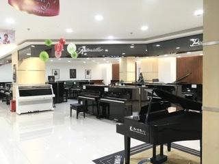 Music studio near Zhongshan park station in Shanghai