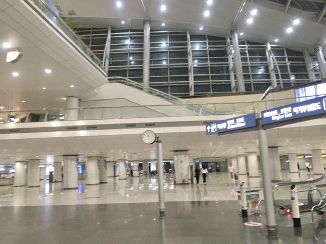 【現地採用】韓国経由で日本から上海入り