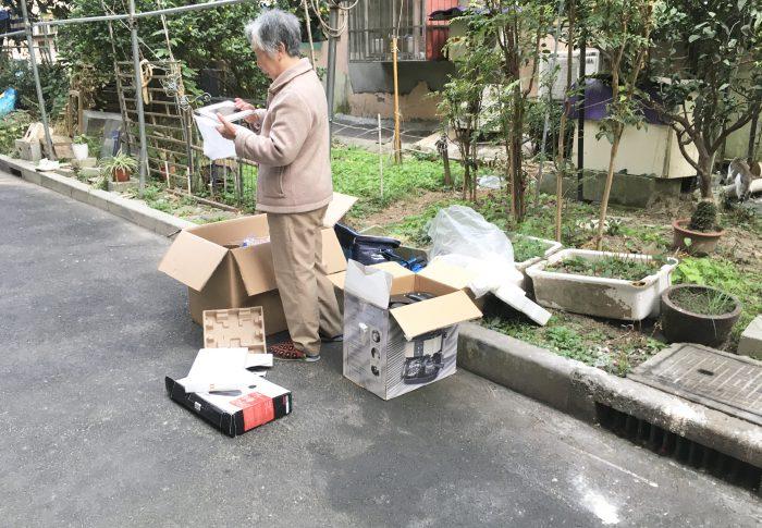 【上海】ゴミ転売人のおっちゃん&おばちゃん