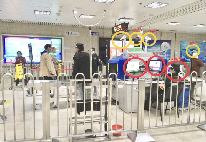 【2020年3月上海】29日コロナウイルス現地状況-地下鉄の赤外線カメラが体温を測定