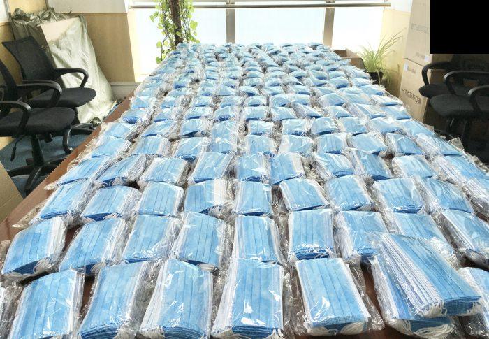 【2020年4月上海】マスク10,000枚以上を日本へ送付、1枚あたり平均単価は57円程度