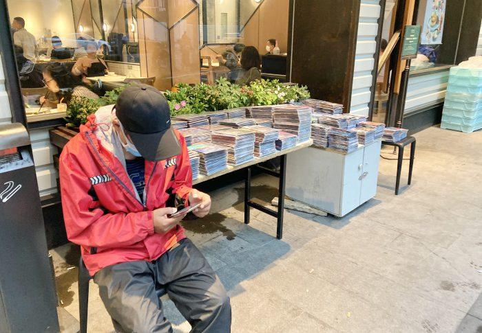 【2020年5月上海】海賊版DVD販売の小店、密かに商売は続いている