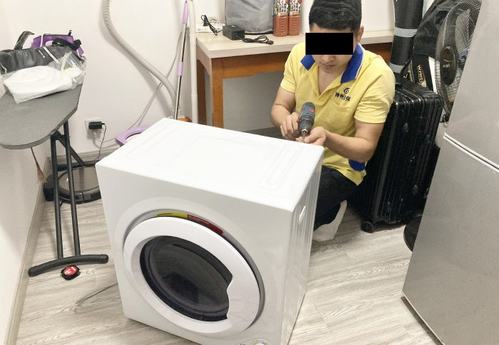 【2020年5月上海】1年半前購入した乾燥機が壊れ修理の依頼、無料対応してくれたけど大変だった