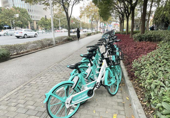 【2020年12月上海】またまた新しい自転車シェアリング!その名は「青桔」!