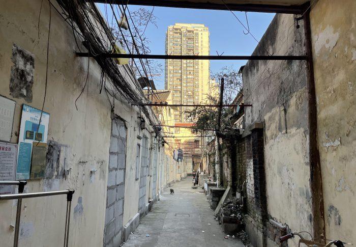 【2021年1月上海】ぶらぶら上海、城壁「中華路」「人民路」を巡る
