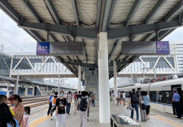 【2021年5月広東省-茂名】上海から遠く南方、広東省マオミン市、地方都市の様子
