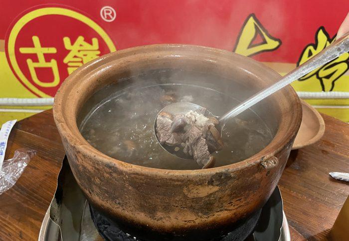 【2021年5月広東省-茂名】人生初めての犬食、鍋料理に挑戦