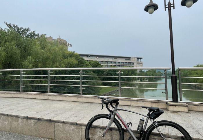 【2021年9月上海】夏休みを利用してロードバイク、一泊小旅行、「佘山国家森林公園」へ